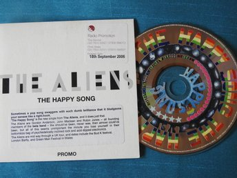 The Aliens - Happy Song CD Singel 2006 (Pappfodral) PROMO