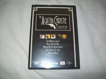 Agatha Christie Collection ,box med 5 filmer , svensk text