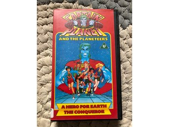 Captain Planet VHS kult! ( Mask transformers heman )