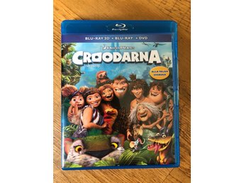 Croodarna blu ray 3D