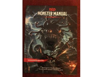 Dungeons & Dragons Monster Manual 5e Edition