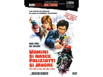 Live Like a Cop, Die Like a Man '76 (CE RARO VIDEO) Ruggero Deodato NY DVD OOP