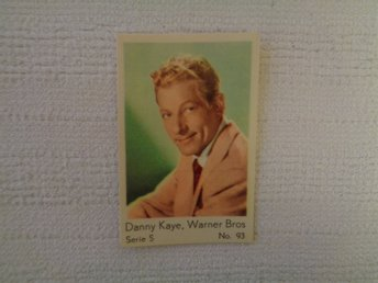 Nr 93 Danny Kaye- Serie S 1957- Stor text