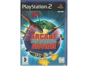 ARCADE 30 GAMES ACTION   (PS2 SPEL)