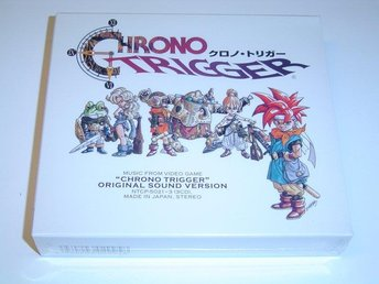 Chrono Trigger Original Soundtrack Musik *NYTT*