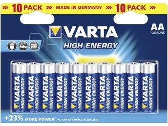 20x10 Varta High Energie Mignon AA LR 6 PU inner box - Höganäs - 20x10 Varta High Energie Mignon AA LR 6 PU inner box - Höganäs