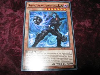 YU-GI-OH RADIAN, THE MULTIDIMENSIONAL KAIJU MP16-EN163
