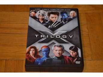 X-Men Trilogy - 3 Filmer - 3-Disc DVD Box