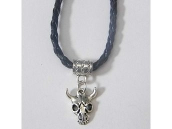 Koskalle halsband / Cow skull necklace