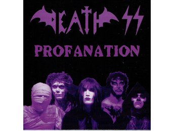 DEATH SS - PROFANATION (LTD EDT, WHITE VINYL. SVART RECORDS) 7""