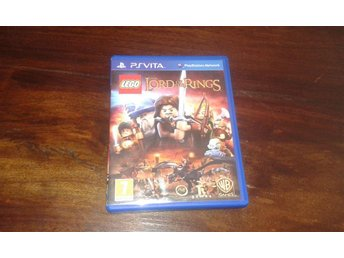 Lego The Lord of the Rings, Vita, Komplett, Fint Skick!