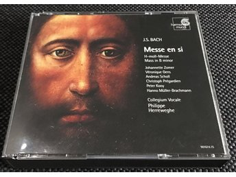 J.S. Bach - Messe En Si - Collegium Vocale, Philippe Herreweghe - Dubbel-CD