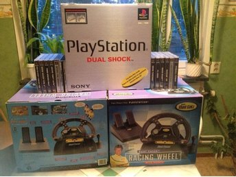 Stort Playstation 1 paket.