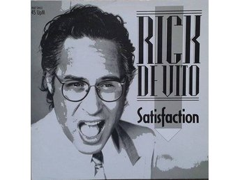"Rick De Vito title* Satisfaction* Pop Rock, Disco 12""-Maxi Germany"