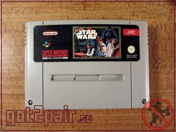 Super Star Wars till Super Nintendo / Snes - BERGSALA SCN