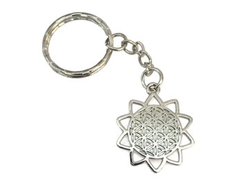 Nyckelring Buddhism Yoga Flower Of Life Mindfulness