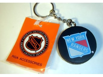 NYCKEL RING  PUCK NEW YORK RANGERS  NY  !!!!