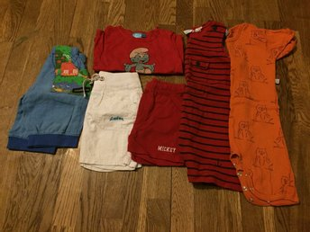 T-shirt shorts  Strl 86 Ida T baby gap Laban