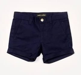 MINI RODINI super snygga navy chino shorts stl 92/98 (1.5-3år)