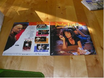 Pulp fiction - Widescreen - LD-G - 2st Japanpress