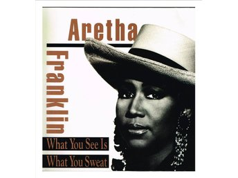 ARETHA FRANKLIN - What You See Is What You Sweat - LP (1991)