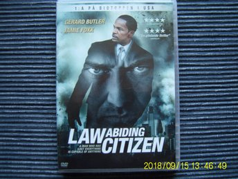 DVD -  Law abiding citizen
