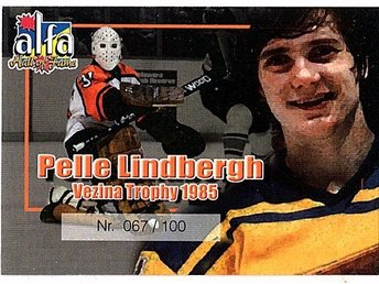 Alfa Hall of Fame Pelle Lindberg 067/100