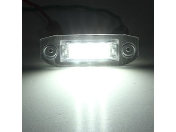 3 LED White Number License Plate Light Lamp For Volvo S80...