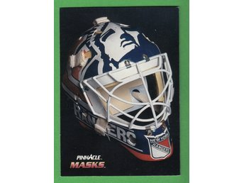 1992-93 Pinnacle Masks French #270 Mike Richter New York Rangers