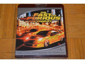 The Fast And The Furious Tokio Drift HD DVD Inplastad