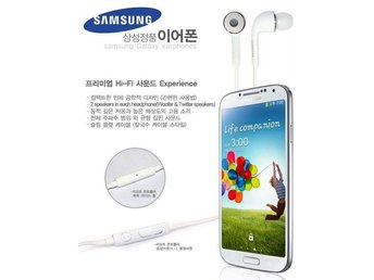 KOREA IMPORTS Samsung Galaxy Earphone hörlurar -J5 type
