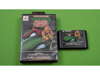 Turtles Tournament Fighters  SVENSK UTGÅVA Sega Megadrive