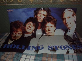 Poster Okey Rolling Stones-New Kids On The Block