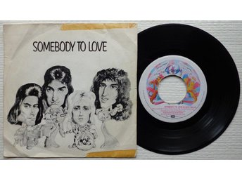 QUEEN 'Somebody To Love' 1976 Dutch 7""