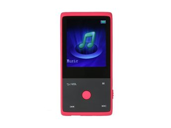 MP3-Spelare 8GB Bluetooth - Röd