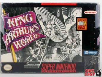King Arthurs World (inkl. Skyddsbox & Amerikansk Version)