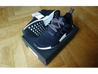 NYA Adidas NMD R1 Core Black/White Sneakers US 10 (EUR 44) Limited Edition