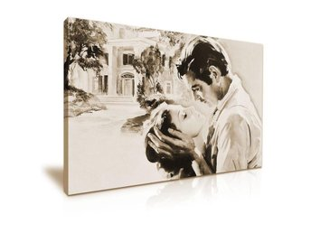 Borta med Vinden - CANVASTAVLA - Gone with the Wind - 50x76 cm - Clark Gable