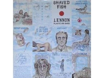 Lennon* The Plastic Ono Band titel*  Shaved Fish* Swe LP