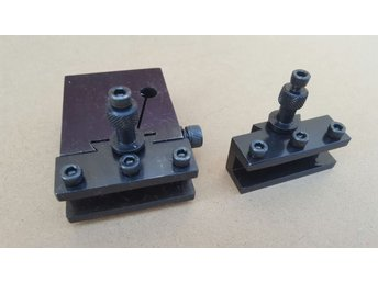 Quick Change Tool Post X 2 Holders For MINI TOOLPOST FOR LATHE Atlas Sherline