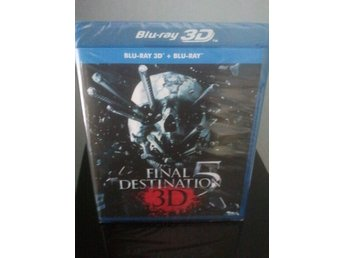 FINAL DESTINATION 5 *Blu-ray 3D + 2D* Svensk text!