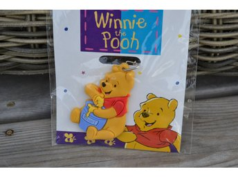 Nalle Puh Nyckelring (Winnie the Pooh) Äldre Design,90-tal Disney Oöppnad