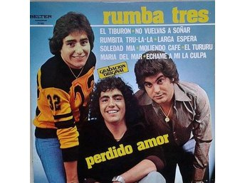 Rumba Tres title* Perdido Amor* Latin, Disco LP