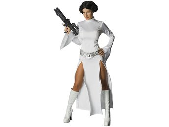 Leia - Star Wars - Maskeraddräkt, Medium