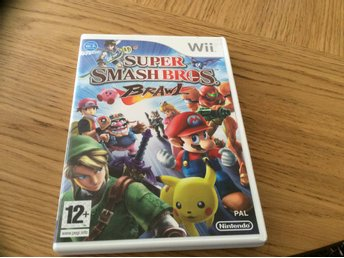 SUPER SMASH BROS BRAWL NINTENDO Wii spel