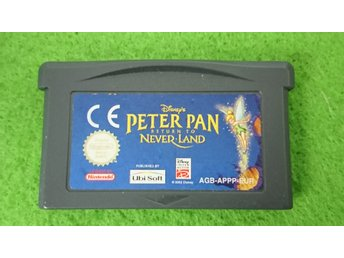 Peter Pan Return to Neverland Gameboy Advance Nintendo GBA never land