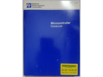 National Semiconductor Microcontroller Databook