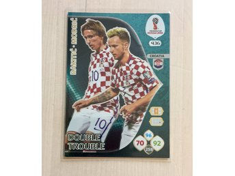 Panini Adrenalyn FIFA World Cup 2018 Double Trouble Rakitic/Modric no436