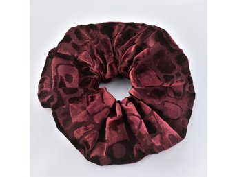 Hårsnodd ( Scrunchie ) bordeaux