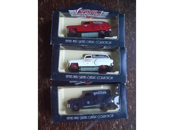 LLEDO VANGUARDS DAYS GONE FIFTIES SIXTIES COLLECTION x 3 DIECAST